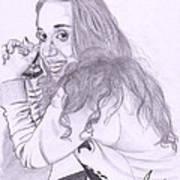 Pencil Sketches Art Print
