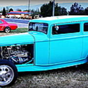 32 Ford Victoria Two Door Art Print