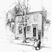 Walt Whitman (1819-1892) Art Print