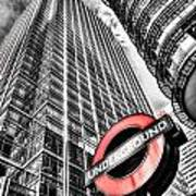 Canary Wharf London Art Print