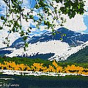 Norway  Landscape Art Print