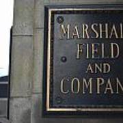 Marshall Field's Store Art Print