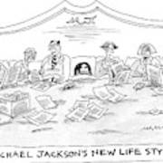 New Yorker July 4th, 2005 Art Print