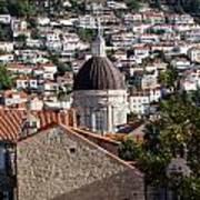 Views Of Dubrovnik Croatia Art Print