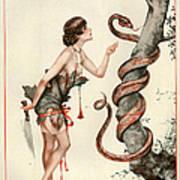 1920s France La Vie Parisienne Magazine Art Print