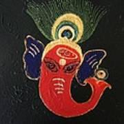 34 Ganadhakshya Ganesha Art Print