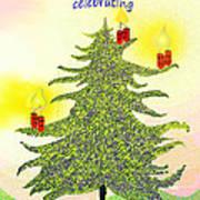 347 - A Christmas Card Art Print