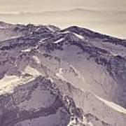 3.478 Meters Aerial Retro Art Print