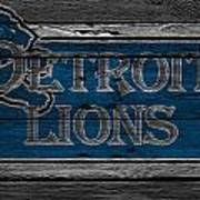 Detroit Lions Art Print