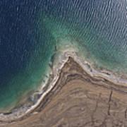 Observation Of Dead Sea Water Level Art Print