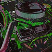 350 Battle Ax In Green Art Print