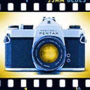 35mm Blues Pentax Spotmatic Art Print