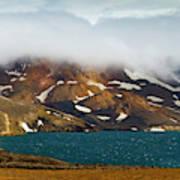 Iceland, Ice & Fire Art Print