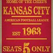 Kansas City Chiefs Art Print