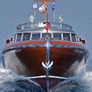 Iconic Thunderbird Yacht Art Print