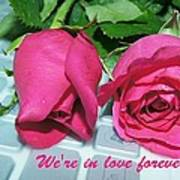 Roses For You Art Print by Gornganogphatchara Kalapun