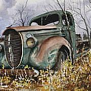 39 Ford Truck Art Print