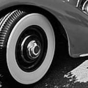39 Lincoln Zephyr Fender  Art Print