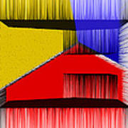 3d Abstract 1 Art Print