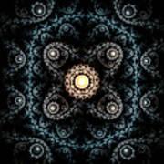 3d Abstract Carpet  Art Print