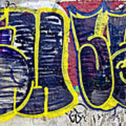 3t Graffiti Art Print