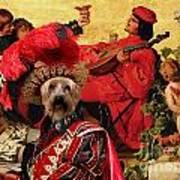 Silky Terrier Art Canvas Print Art Print
