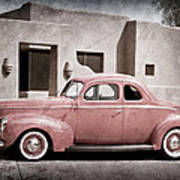1940 Ford Deluxe Coupe Art Print