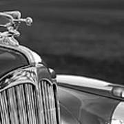 1942 Packard Darrin Convertible Victoria Hood Ornament Art Print