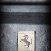 1956 Ferrari Emblem Art Print