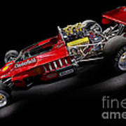 1974 Lola T332  F5000 Race Car V8 5 Litre Art Print