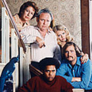 All In The Family  Art Print by Silver Screen