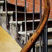 Ancient Staircase Art Print