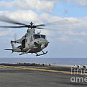 Aviation Boatswains Mate Directs Art Print
