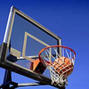 Basketball Shot Art Print by Lane Erickson