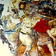 Battle Of Grunwald Art Print