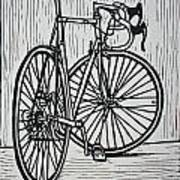 Bike 4 Art Print by William Cauthern