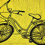 Bike 5 Art Print by William Cauthern