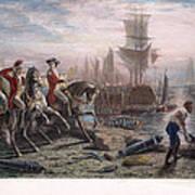 Boston: Evacuation, 1776 Art Print