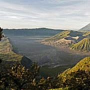 Bromo Valley Java Indonesia Art Print