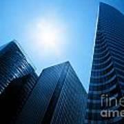 Business Skyscrapers Art Print