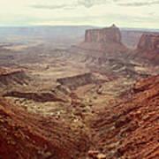 Canyonlands National Park In Utah Art Print