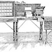 Census Machine, 1890 Art Print