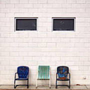 Ace Chairs Palm Springs Art Print