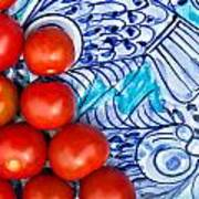 Cherry Tomatoes Art Print