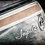 Chevrolet Impala Emblem Art Print