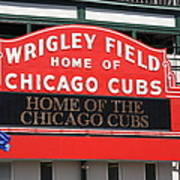 Chicago Cubs - Wrigley Field Art Print