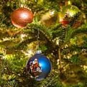 Christmas Tree Ornaments Art Print