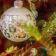 Christmas Tree Ornaments And Decorations Art Print