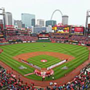 Cincinnati Reds V St. Louis Cardinals Art Print