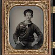 Civil War Sailor, C1863 Art Print